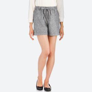 Cotton Linen Relaxes Shorts